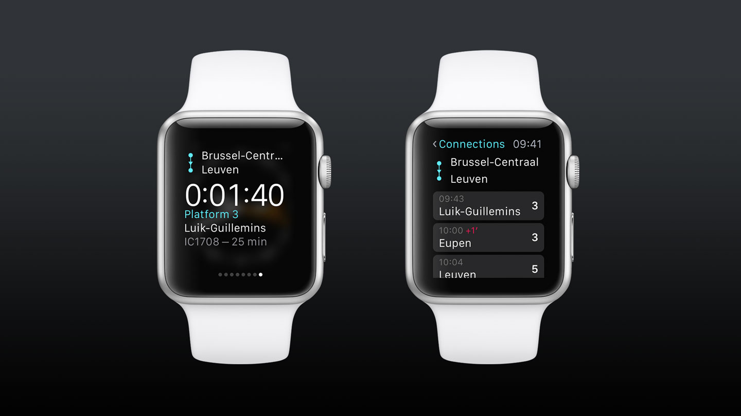 Railer Apple Watch App