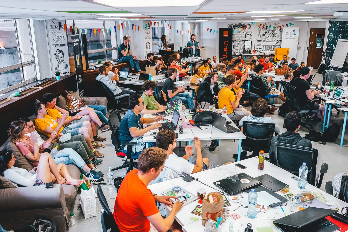 Photo of a group of students at Open Summer of Code